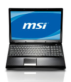"15.6""  MSI CR620-692US with webcam, Windows® 7 Home Premium 64-Bit Notebook"
