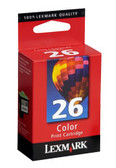 Lexmark Color 26 Print Cartridge Genuine
