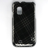 Samsung Fascinate Crystal Rubberized Case Smoke Checker Design