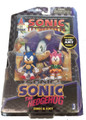 """Sonic 20Th Anniversary 3"""" Plastic Action Figure With Comic Book - Sonic Amy"""