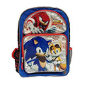 Sonic Boom Large 16 Inch Backpack Black/Knuckles/Tails