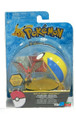 "Pokemon 2"" Plastic Toy Action Figure Clip n Carry - Talonflame and Poke Ball"