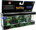 Pokemon 3-Pack Plastic Action Figure Limited Edition - Treecko/Grovyle/Sceptile