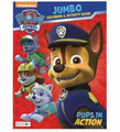 Paw Patrol Jumbo 96 pg. Coloring And Activity Book - Pups In Action