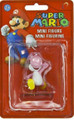 "Super Mario Bros. Mini Action Figure 1 - 3"" - Pink Yoshi"