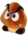 "Super Mario Brothers Goomba 5"" Plush Toy Stuffed Animal"