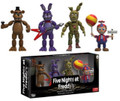 "Five Nights at Freddy's 2"" Inch 4 Vinyl Figure Set 2"