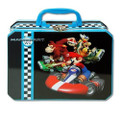Mario Brothers Small Tin Lunch Box Pencil Case - Black
