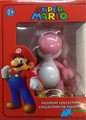 "Mario Brothers 5"" Plastic Action Figure - Pink Yoshi"
