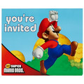 Mario Brothers Birthday Invitations Party Favors -