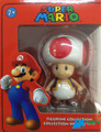 "Mario Brothers 5"" Plastic Toy Action Figure - Toad"