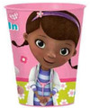 12X Doc McStuffins Plastic 16 Ounce Reusable Keepsake Favor Cup ( 12 Cups )