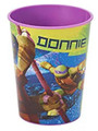 Teenage Mutant Ninja Turtles Plastic 16 Oz Reusable Keepsake Favor Cup (1 Cup)