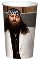 Duck Dynasty Plastic 22 Ounce Reusable Keepsake Favor  Willie ( 12 Cups )