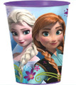 Frozen Ice Princess Anna Elsa Plastic 16 oz Reusable Keepsake Favor Cup (1 Cup)
