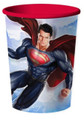 Superman Plastic 16 Ounce Reusable Keepsake Favor Cup (1 Cup)