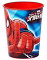 12X Spiderman Plastic 16 Ounce Reusable Keepsake Favor Cup ( 12 Cups )