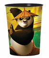 12X Kung Fu Panda 3 Plastic 16 Ounce Reusable Keepsake Favor Cup ( 12 Cups )