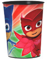 PJ Masks Plastic 16 oz Reusable Keepsake Favor Souvenir Cup (1 Cup)