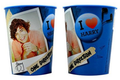 1D Harry Blue Plastic 16 oz Reusable Keepsake Souvenir Favor Cup (1 Cup)