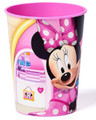 Minnie Mouse & Daisy Pink Plastic 16oz Reusable Keepsake Souvenir Cup (1 Cup)