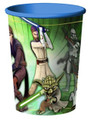 Star Wars Clone Wars Plastic 16 Ounce Reusable Keepsake Favor Cup (1 Cup)