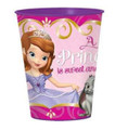12X Sofia the First Plastic 16 Ounce Reusable Keepsake Favor Cup ( 12 Cups )