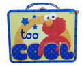 Elmo Square Tin Stationery Small Lunch Box Lunchbox - Too Cool