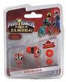 Power Ranger Samurai Red Ranger Earbuds