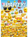 Emoji  Pack of 8 Invitations
