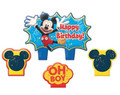 Mickey Mouse 4 Piece Molded Candle