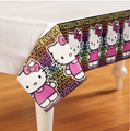 Hello Kitty Paper Tablecover Table Cover - Tween Black
