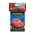 Disney Cars  Birthday Party Pack of 8 Invitations