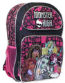 Monster High 16 Inch Large Backpack
