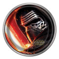 Star Wars Small 6 Inch Dessert Party Cake Plates - The Force Awakens