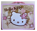 Hello Kitty Square Tin Box - Safari