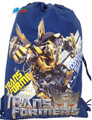 Transformers Cloth String Backpack Sack Bag Cinch Sack Pack - Blue