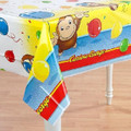 Curious George Plastic Tablecover Table Cover - Yellow