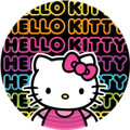 Hello Kitty Large 9 Inch Lunch Dinner Plates - Tween