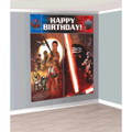 Star Wars Force Awakens Giant Scene Setter Wall Decorating Kit