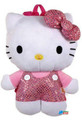 "Hello Kitty 12"" Plush Backpack Toy - Sequin Bow"