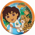 Diego Small 7 Inch Round Party Cake Dessert Plates