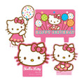 Hello Kitty 4 Piece Molded Candle