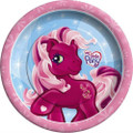 My Little Pony Small Round 7 Inch Party Cake Dessert Plates - Pink