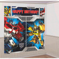 Transformers Giant Scene Setter Wall Decorating Kit