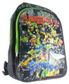 "Teenage Mutant Ninja Turtles Large 16"" Cloth Backpack - ""Shell Shock"""