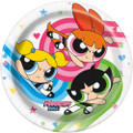 Power Puff Girls Small 7 Inch Paper Plate