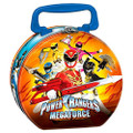 Power Ranger Round Tin Box Red - Mega Force