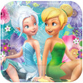 Tinkerbell Best Friends Fairies Small 7 Inch Party Cake Dessert Plates