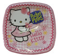 Hello Kitty Small 7 Inch Party Cake Dessert Plates - Pink Pocket Plates
